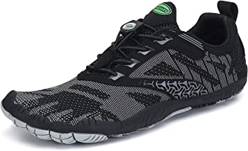 SAGUARO Mens Womens Minimalist Trail Running Shoes Barefoot Walking | Wide Toe Box | Outdoor Cross Trainer | Zero Drop Sole