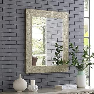 Naomi Home Mosaic Style Wall Mirror Gold