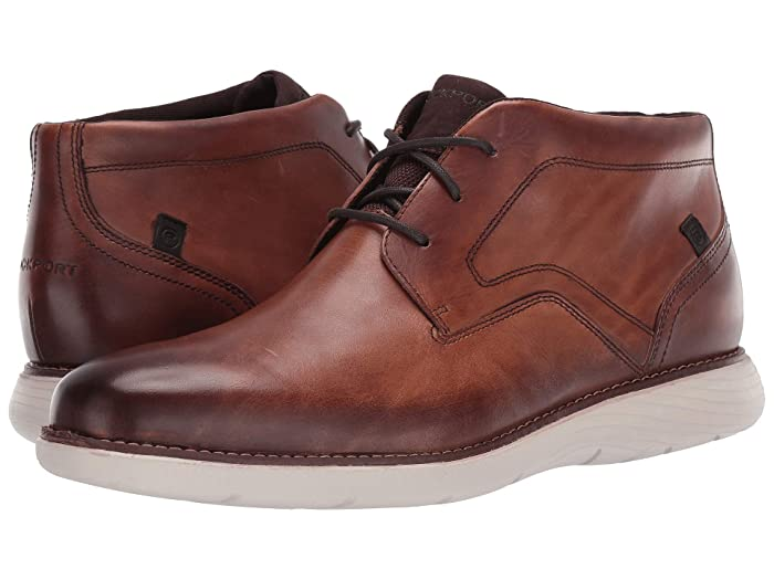 Rockport  Garett Chukka (Cognac) Mens Shoes