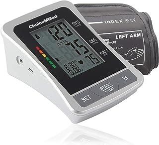 """مانیتور فشار خون ChoiceMMed - دستگاه اندازه گیری فشار استاندارد BP با نمایشگر - اندازه استاندارد فشار خون 8.6 """"-14.2"""" - تستر فشار خون با کیسه حمل - فشار سنج با حافظه"""