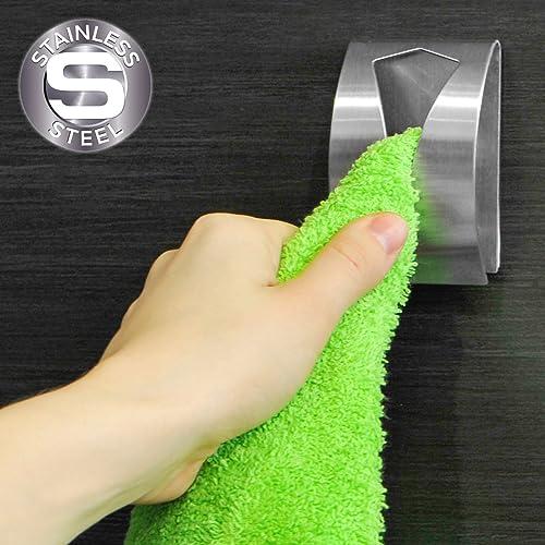 Mejor valorados en Toalleros de gancho para baño & Opiniones ...