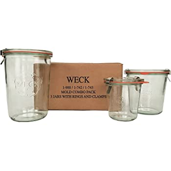 Weck Mold Jar Combo Pack
