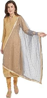 Woman's Embellished Net Dupatta