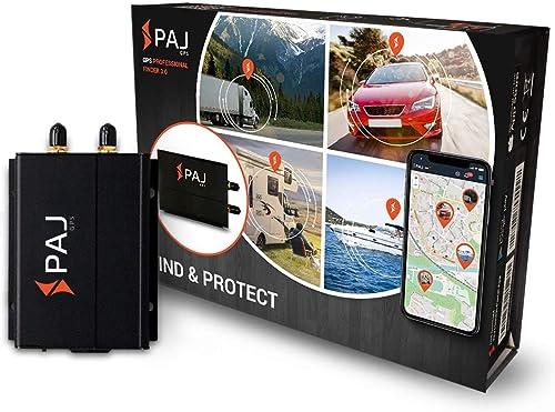 PAJ GPS Professional Finder 3.0 GPS- Marca Alemana- Localizador Protección Antirrobo de Coches, Motos y Camiones con ...