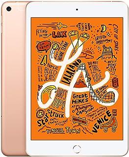 Apple iPad Mini 5th Generation (Wi-Fi + Cellular, 64GB) - Gold (Renewed)