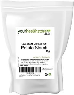 yourhealthstore Almidón de patata sin gluten sin gluten, 1 kg, vegano (bolsa reciclable)