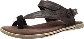 Woodland Men's Gd 1143112y15_Dirty Brown_10 Leather Outdoor Sandals-10 UK (44 EU) (11 US) 1143112Y15DIRTY