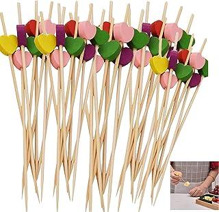 stuzzicadenti con Bandiera a Scacchi Bastoncini di Frutta per Cocktail Party stuzzicadenti per Snack Stuzzicadenti con Bandiera da Corsa bomboniere per Bambini