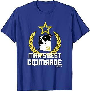 Get Pitted Communist Dog Man's Best Friend Comrade T-Shirt
