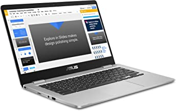 2019 ASUS Chromebook 14 FHD 1080P Display with Intel Dual Core Celeron Processor N3350, 4GB RAM, 32GB eMMc SSD Storage, We...