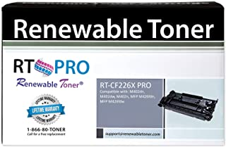 Renewable Toner Pro Compatible High Yield MICR Toner Cartridge Replacement for HP 26X CF226X Laserjet Pro M402d M402n M402dn M402dw M426dw M426fdn M426fdw MFP