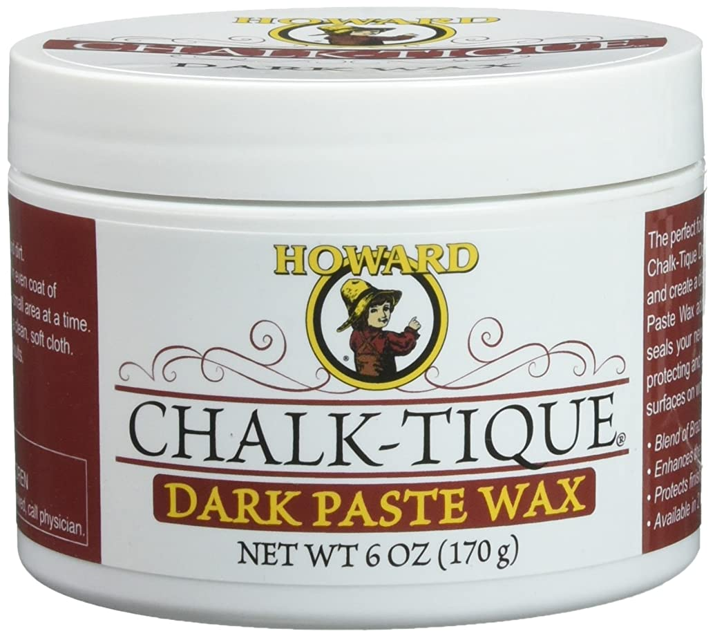 Chalk-Tique Dark Paste Wax – Dark Wax Polish – Distress and Enhance your Home Décor Chalk Paint Project - 6 oz