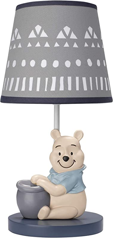 Disney Baby Forever Pooh Lamp With Shade Bulb By Lambs Ivy