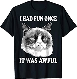 Had Fun Once Was Awful Big Face T-Shirt