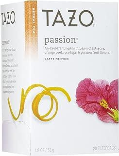 Tazo Passion Herbal Tea, 20 ct