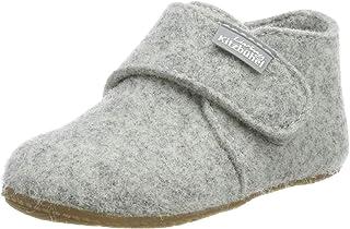 Living Kitzbühel 中性婴儿尼龙鞋 毛毡 纯色家居鞋