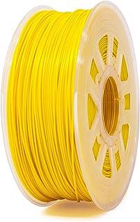 Yellow NinjaTek 3DNF04117505 NinjaTek NinjaFlex TPU Filament Pack of 1 1.75mm Sun TPE.5kg