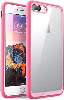 SUPCASE Unicorn Beetle Style Case Designed for iPhone 7 Plus, iPhone 8 Plus Case, Premium Hybrid Protective Clear Case for Apple iPhone 7 Plus 2016 / iPhone 8 Plus 2017 (Pink)