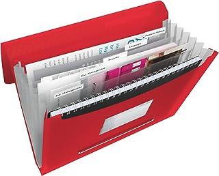 Esselte Vivida Classeur ménager en polypropylène A4 350 feuilles Rouge, 624016
