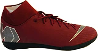 Men's Superfly 6 Academy IC Indoor Soccer Shoes Team Red Size 9