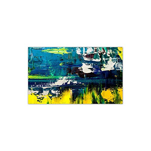 999Store Unframed Large Printed Landscape Fragment Abstract Art Panel Likes Canvas Painting (60X36 Inches)