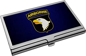 Business Card Holder - US Army 101st Airborne Division, Combat Service ID Badge