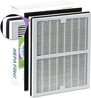 GHM Replacement Idylis A Air Purifier Filter, Compatible with Idylis Air Purifiers Idylis AC-2119, IAPC-10-140, IAP-10-100, IAP-10-150 Model # IAF-H-100A, Includes 1 HEPA & 1 Carbon Filters
