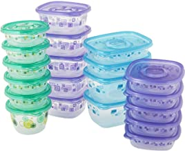 Glad Food Storage Containers - Food Container Variety Pack - 20 Containers - 40 Piece Set