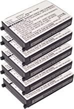5X Exell 3.7V 900mAh Li-Ion FRS 2way Radio Battery Fits Motorola 56557, BAT56557, CLS1100, CLS1110, CLS1114, CLS1410, CLS1450CB, CLS1450CH, HCLE4159B, HCNN4006, HCNN4006A, SNN5571B, VL120, USA Ship