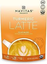 Navitas Organics Turmeric Latte, 12.8oz pouch, 40 Servings — Organic, Non-GMO, Dairy-Free, Keto and Paleo Friendly