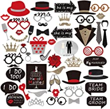 Bachelor Party Photo rops Wedding Bachelor Party Paper Beard Props 54 pcs/set
