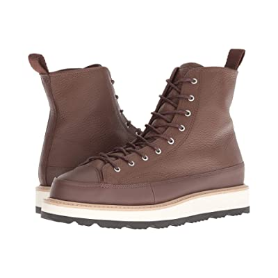Converse Chuck Taylor Crafted Boot Hi (Converse Chocolate/Light Fawn/Black) Men