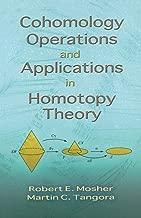 cohomology التشغيل و التطبيقات في homotopy Theory (Dover كتب على والرياضيات)