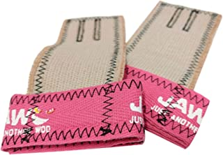 JAW Pull-Up Hand Grips (Pink/Black, Medium)