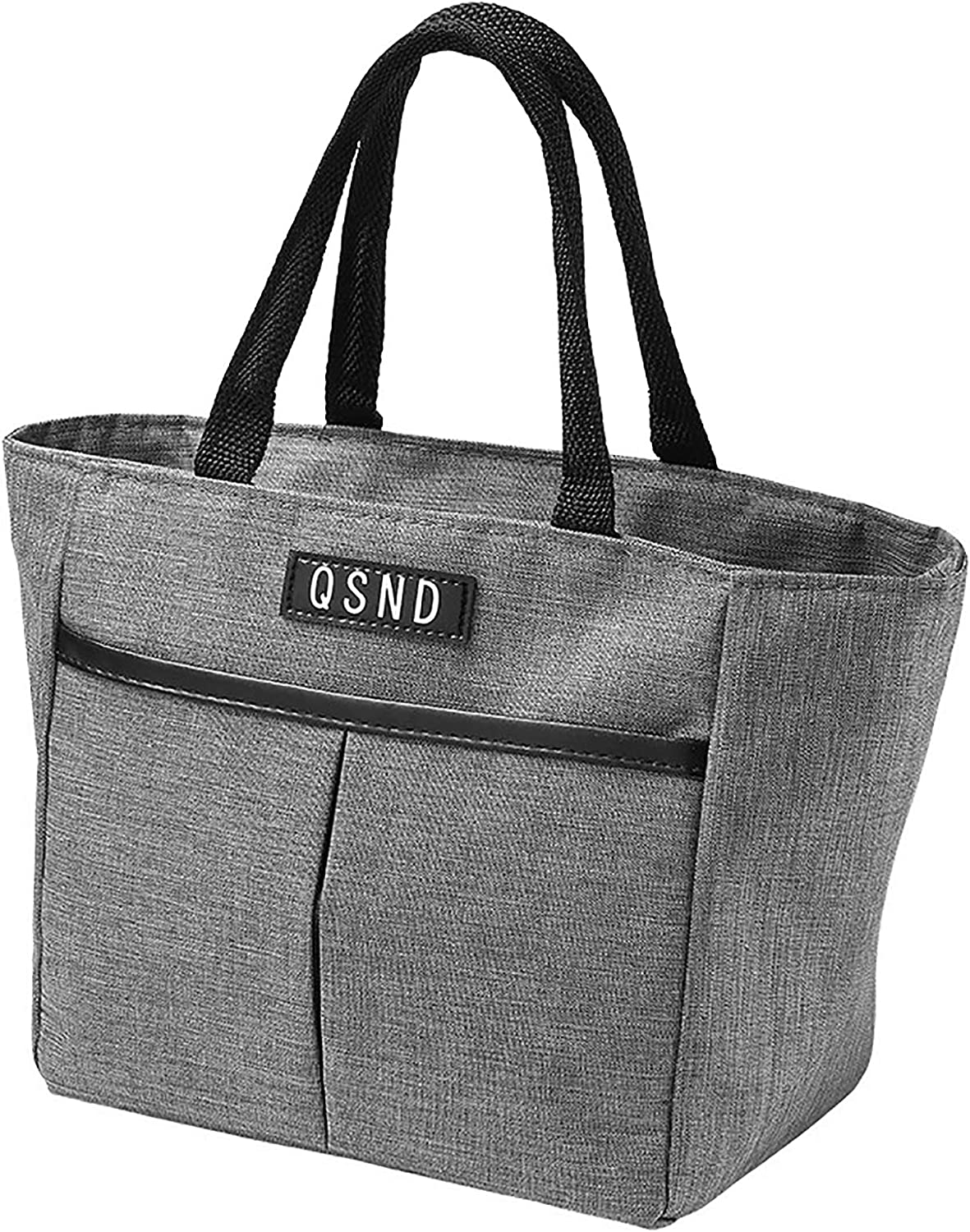 Chase Fans Lunch Bags for Women & Men,Insulated Thermal Lunch Tote Bag,Lunch Box with Front Pocket for Office,Work,Picnic,Beach (Grey)
