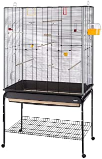Ferplast 52066817 Klatka dla Ptaków, 97 x 58 x 173,5 cm, Czarny