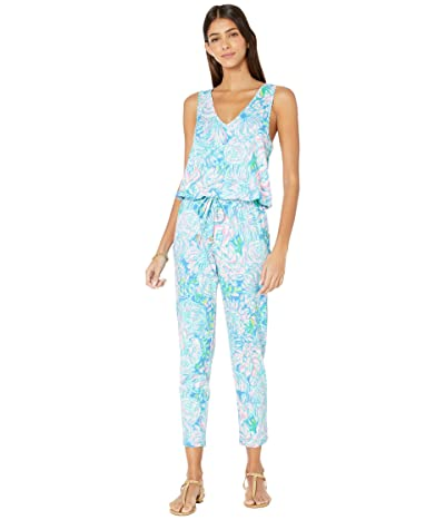 Lilly Pulitzer Paulina Jumpsuit (Multi In Full Bloom) Women