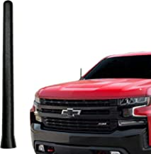 AntennaMastsRus - The Original 6 3/4 Inch is Compatible with Chevrolet Silverado 1500 (2006-2020) - Car Wash Proof Short Rubber Antenna - Internal Copper Coil - Premium Reception - German Engineered