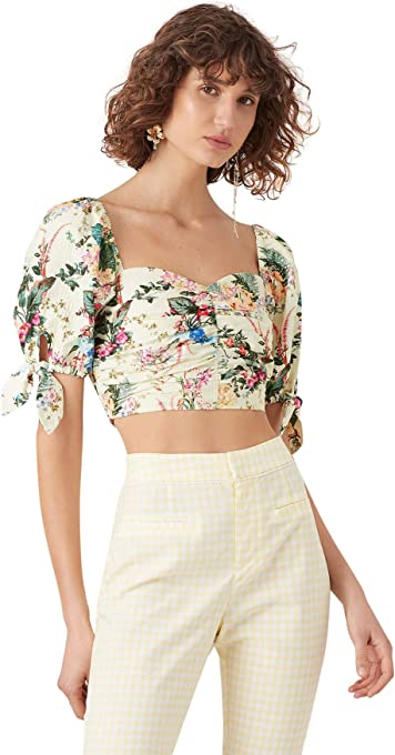 Tigerlily Women's KALANI TOP, Lemon