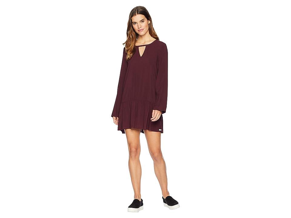 Hurley Cabo Dress (Burgundy Crush) Women