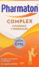 Pharmaton | Multivitamínico con ginseng | Complex 30 cápsulas | Ayuda a recuperar la energía