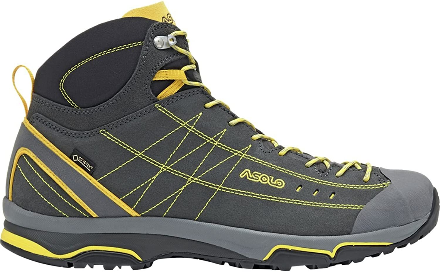 Asolo Men's Nucleon Mid Gv Hiking Boot Grey