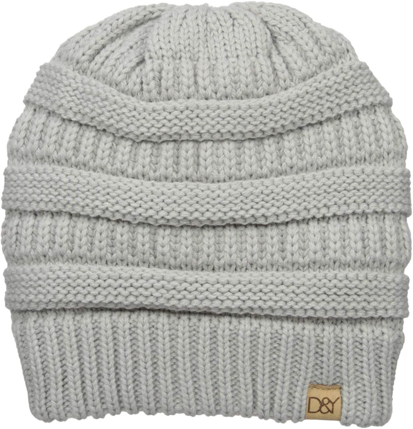D&Y Women's David & Young's Solid Slinky Beanie
