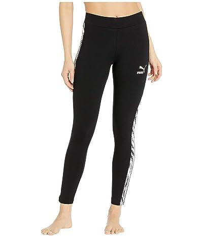 PUMA Wild Pack Leggings (Cotton Black) Women