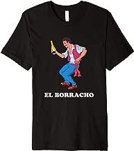 El Borracho Loteria Mexico Latino Cerveza Fiesta Card Game  Premium T-Shirt
