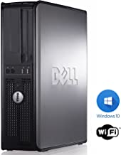Dell Optiplex (Intel Core 2 Duo processor, New 8GB Memory, 250GB HDD, Windows 10 Home Edition)-(Certified Reconditioned)