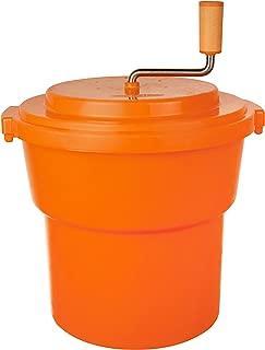 Hakka 20 Liter/5 Gallon Large Commercial Manual Salad Spinner&Dryer