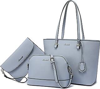 حقائب اليد للنساء حقائب الكتف حمل حقيبة هوبو 3 قطع محفظة مجموعة
