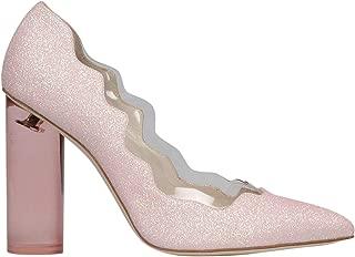 FRANCESCA BELLAVITA Luxury Fashion Womens MOON100PLEXIGLITTER Pink Lace-Up Shoes | Spring Summer 19
