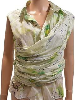 Salvatore Ferragamo Floral Wrap Top